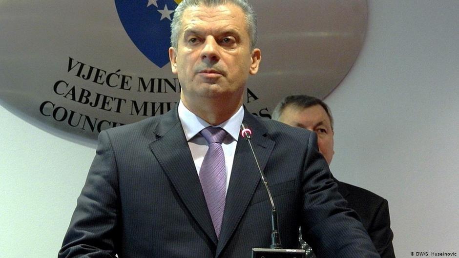 Le ministre bosniaque de la Sécurité a annoncé mardi sa démission du gouvernement. Crédit : DW