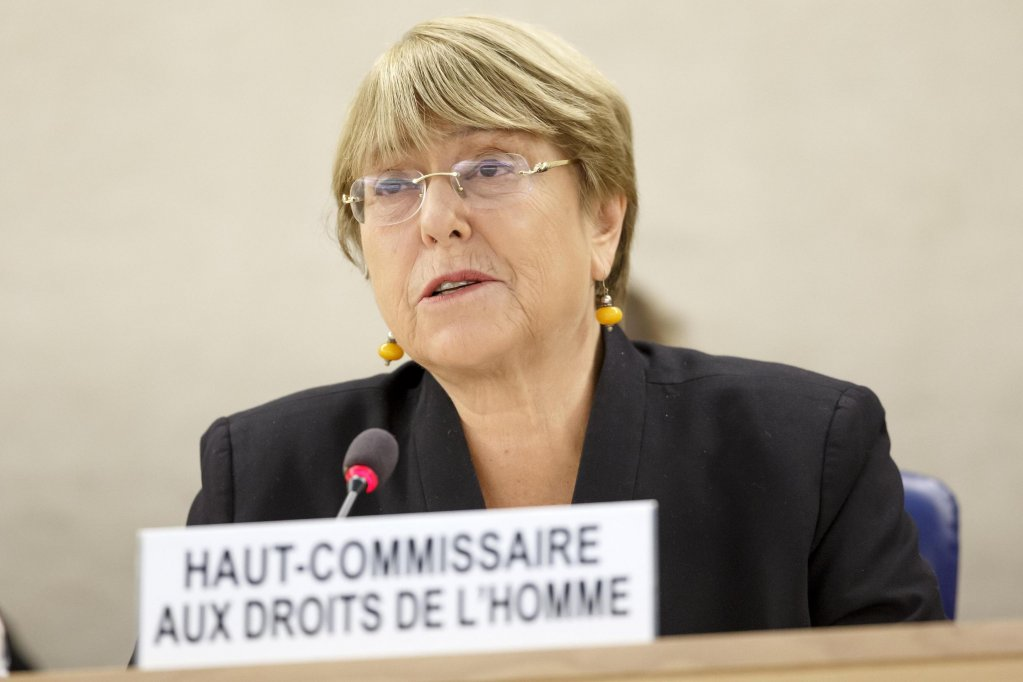 The UN High Commissioner for Human Rights, Michelle Bachelet, during her speech opening the 42nd session of the Human Rights Council in Geneva, on September 9, 2019 | Photo: EPA/Salvatore Di Nolfi