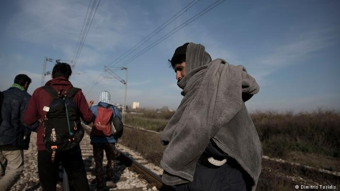 مهاجرون في المنطقة الحدودية بين البوسنة وكرواتيا