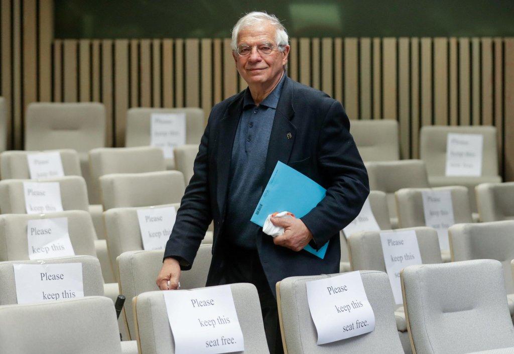 EU foreign policy chief Josep Borrell   Photo: ARCHIVE/EPA/STEPHANIE LECOCQ