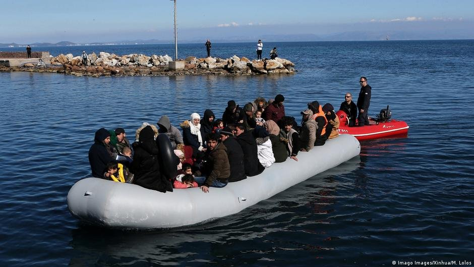 Asylum seekers frequently attempt to reach the EU via rubber dinghies on the Mediterranean Sea | Photo: Imago Images