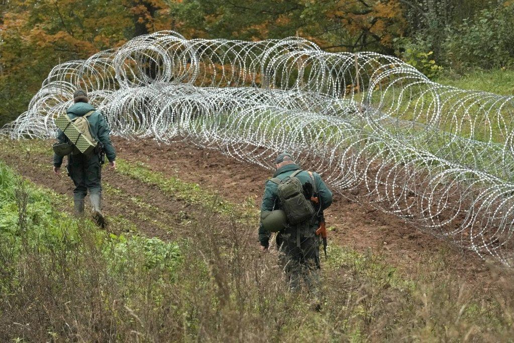 The Latvian-Belarus border near Robeznieki, Latvia, September 28, 2021 | Photo: Ints Kalnins/ Reuters