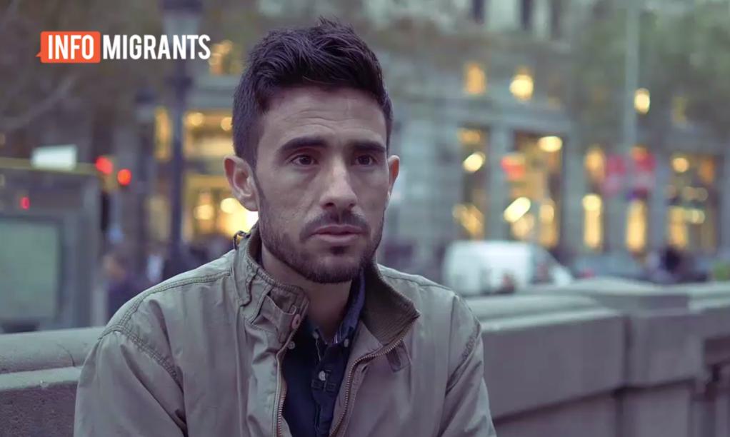 مصطفی سالوم، مهاجر سوری