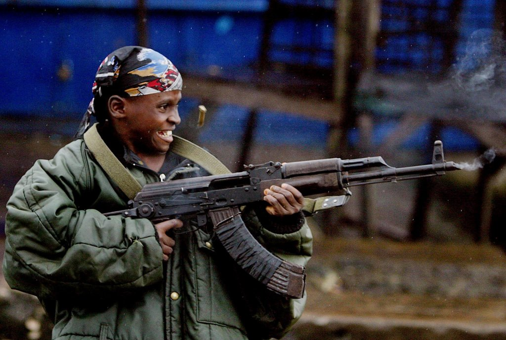 A child soldier in Mali   Photo: EPA/Nic Bothma