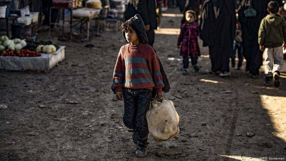 A child at the the al-Hol camp in Syria | Photo: Getty Images