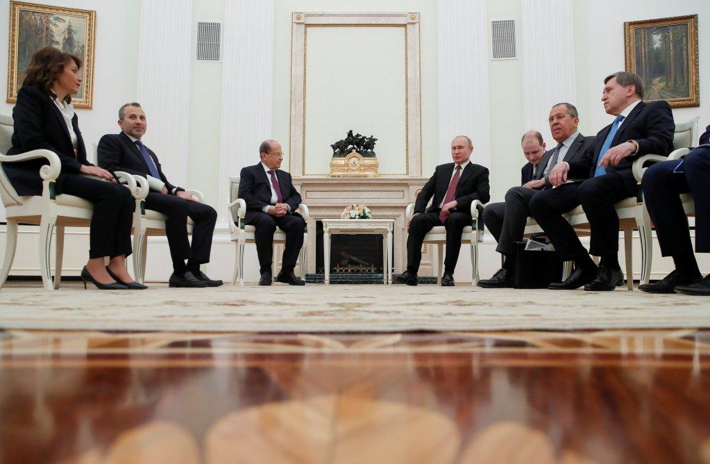 لقاء لبناني روسي في موسكو/رويترز