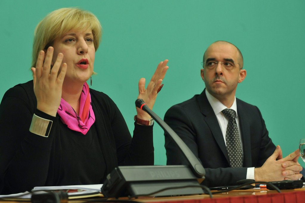 Dunja Mijatovic, Council of Europe Commissioner for Human Rights   Photo: EPA/Lajos Soos