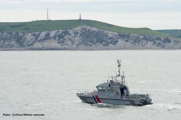 یک کشتی نیروهای دریایی فرانسه. عکس از نیروهای دریایی