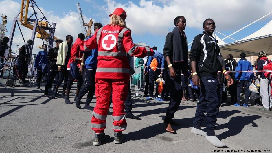 مهاجران در ایتالیا