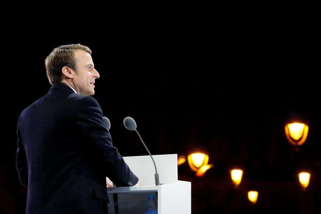 الرئيس الفرنسي إيمانويل ماكرون/رويترز