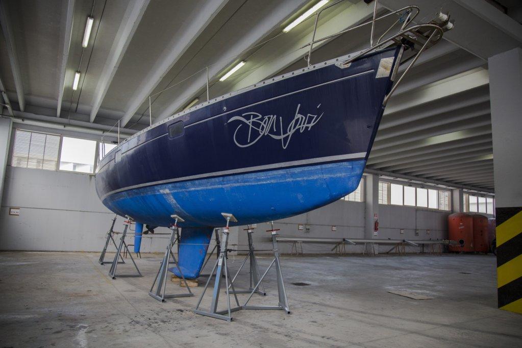 The vessel Bon Jovi. CREDIT: Press office of the association