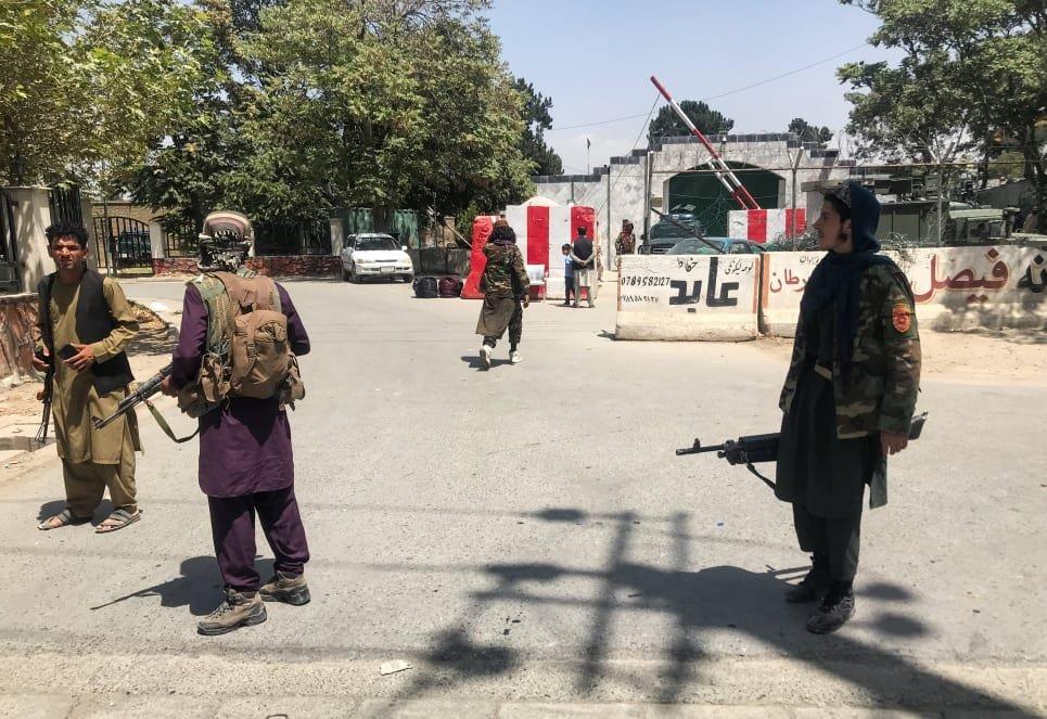 وسله وال طالبان په کابل کې. انځور: رویټرز، د اګست ۱۶مه