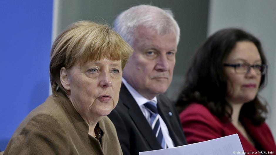 د آلمان کابينې د اخراج د قانون په تړاو تفاهم وکړ.