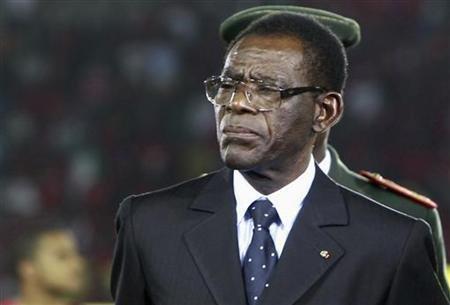 REUTERS/Amr Abdallah Dalsh |Le gouvernement du président équato-guinéen Teodoro Obiang dément avoir commencé la construction d'un mur à la frontière avec le Cameroun (image d'illustration)