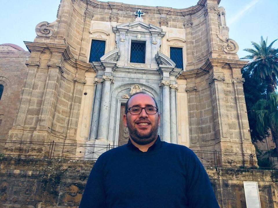 ANSA / الطبيب الفلسطيني الأصل أدهم دراوشة (39 عاما)، الذي تم تعيينه كمستشار ثقافي في مجلس مدينة باليرمو الإيطالية