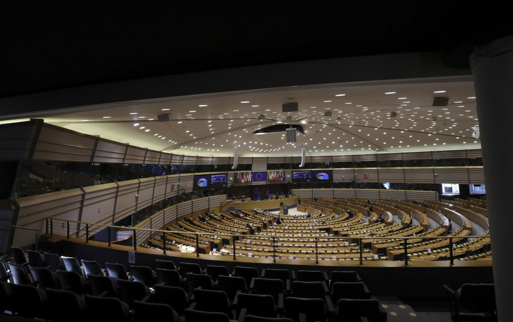 The European Parliament in Brussels | Photo: EPA/Olivier Hoslet