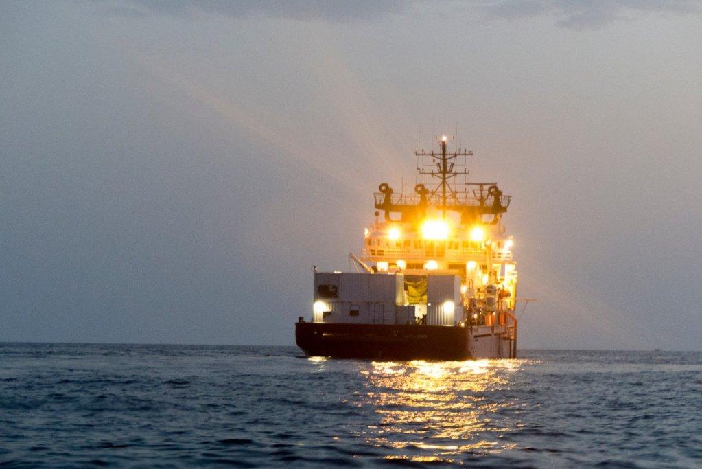 کشتی اوشن ویکنگ در مدیترانه. عکس از اس او اس مدیترانه