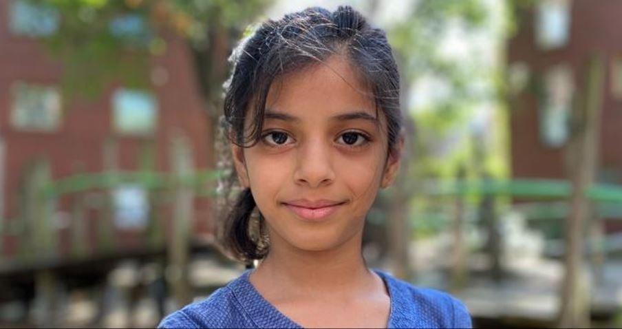لمى سليمان جاءت إلى ألمانيا من سوريا عام 2015 عندما كانت في الرابعة من عمرها   الصورة: DW / V. Kleber