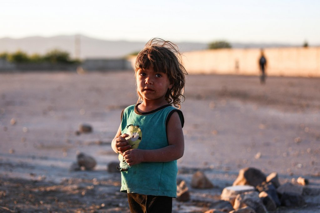 Syrian refugee children in Jordan are living in desperate conditions | Credit: ANSA