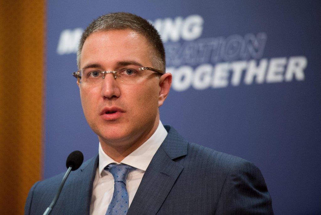 Serbia's Interior Minister Nebosja Stefanovic | Photo: EPA/CHRISTIAN BRUNA