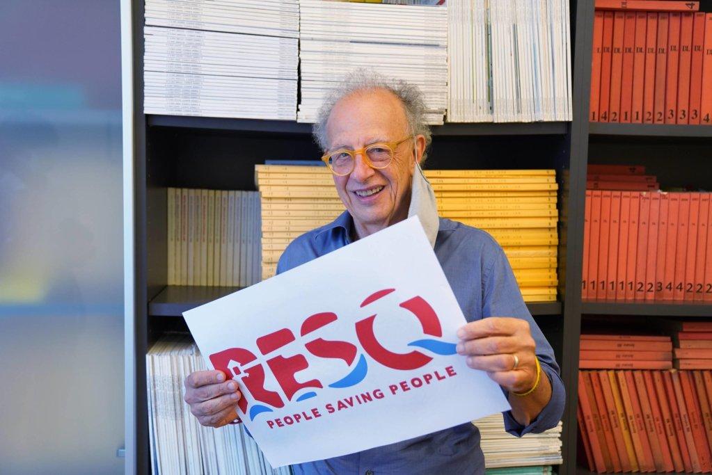 The honorary president of the association ResQ, Gherardo Colombo   Photo: ANSA/Duilio Piaggesi