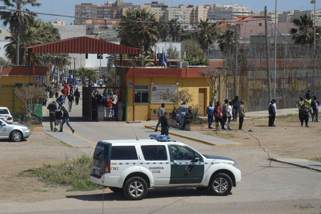 Le poste frontière de Melilla. Crédit : FTDES