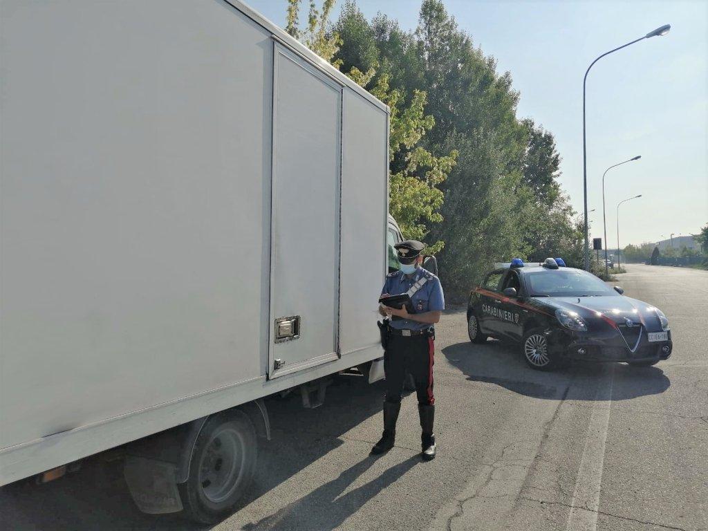 ACarabinieri policeman controls a truck | Photo: Archive/ANSA