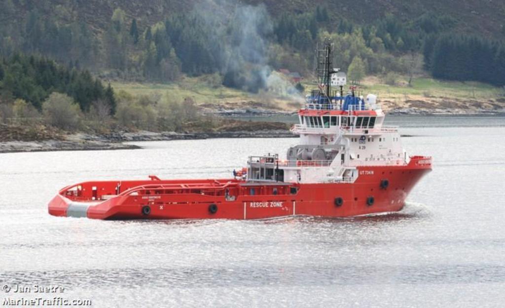 Le navire italien Asso Ventinove mis en cause par les migrants érythréens. Crédit : Marine Traffic