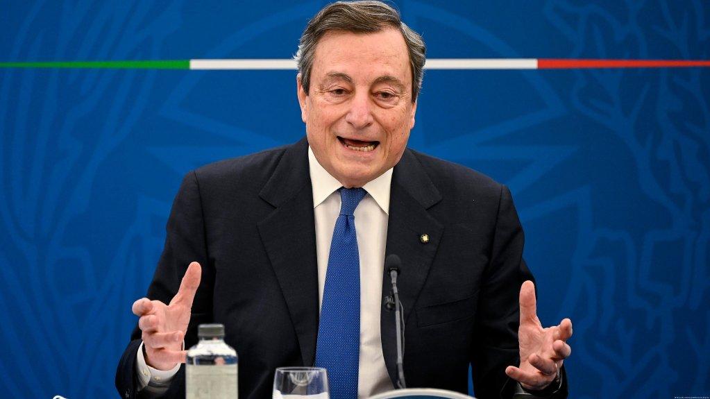 ماریو دراگی، نخست وزیر ایتالیا