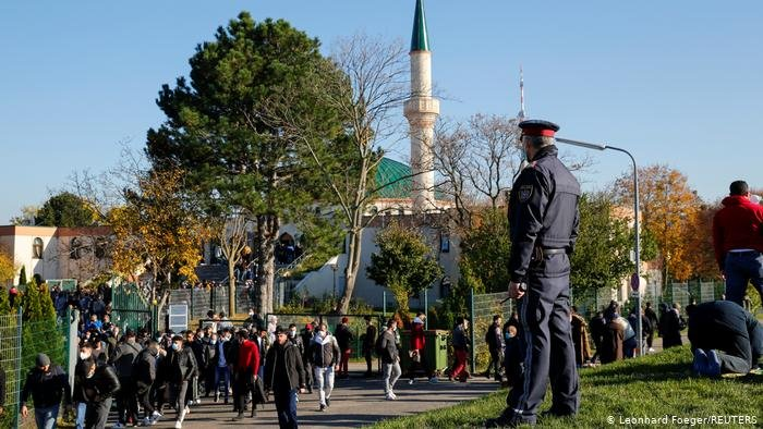 مسجد مسلمانان در ویانا، پایتخت اتریش