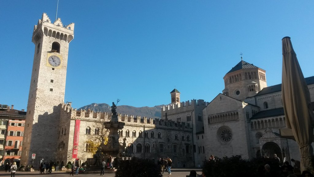 The Piazza del Duomo in the northern Italian town of Trento | Photo: ANSA/CLAUDIA TOMATIS