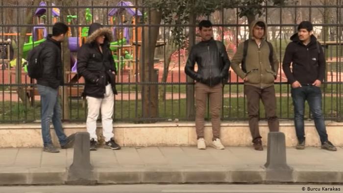 Burcu Karakas |مهاجرون أفغان في مدينة اسطنبول
