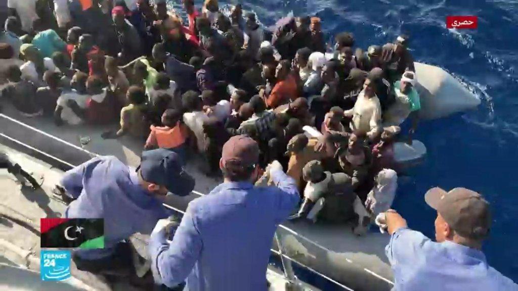 ليبيا-مهاجرون