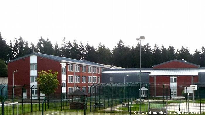 مركز الترحيل في مدينة بورن في ولاية شمال الراين-ويستفاليا الألمانية