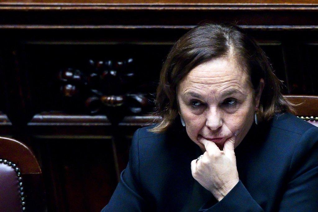 ANSA / وزيرة الداخلية الإيطالية لوتشيانا لامورغيزي. المصدر: أنسا / أنجيلو كاراكوني.
