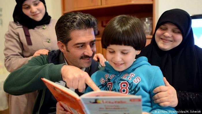 Pour les Syriens, la famille constitue le principal environnement social. Crédit : Picture alliance