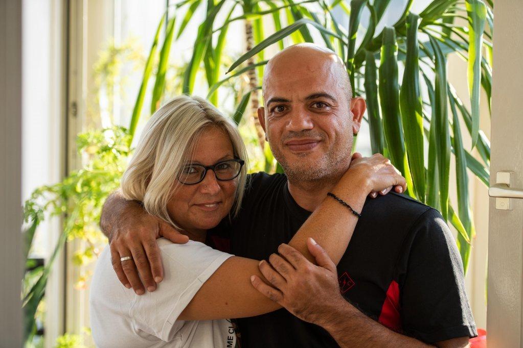 Alex et sa femme Claudia /  Photo: Christophe Gateau / dpa