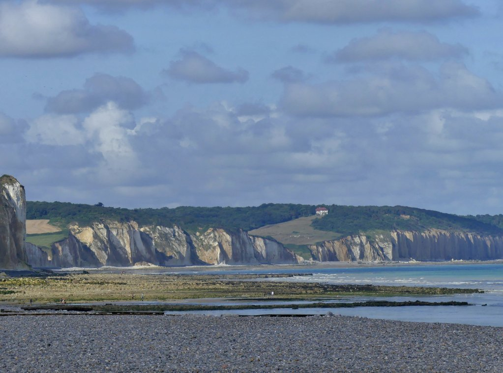 Des falaises dans les environs de Dieppe. Crédit : Wikimedia Commons