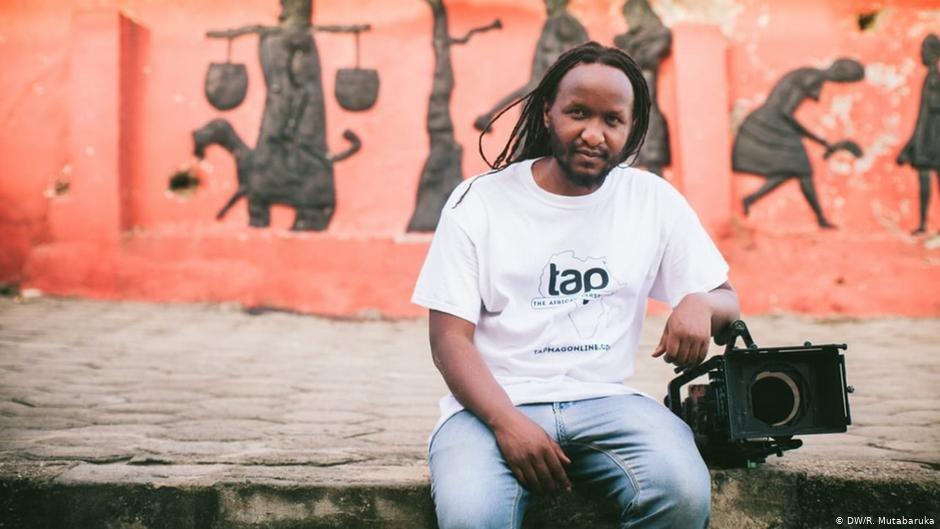 Filmmaker Ras Mutabaruka | Photo: DW/R.Mutabaruka