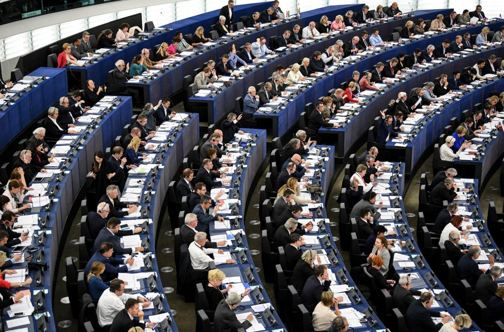 The European Parliament in Strasbourg Photo: Epa/Patrick Seeger