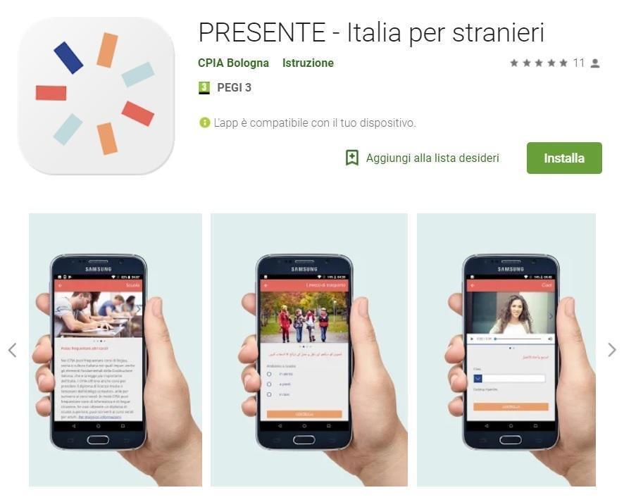 تطبيق لمساعدة الوافدين الجدد. المصدر: أنسا/ سيبيا بولونا