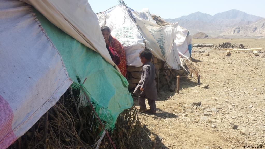 عکس از آرشیف دویچه وله/ بیجاشدگان داخلی در افغانستان