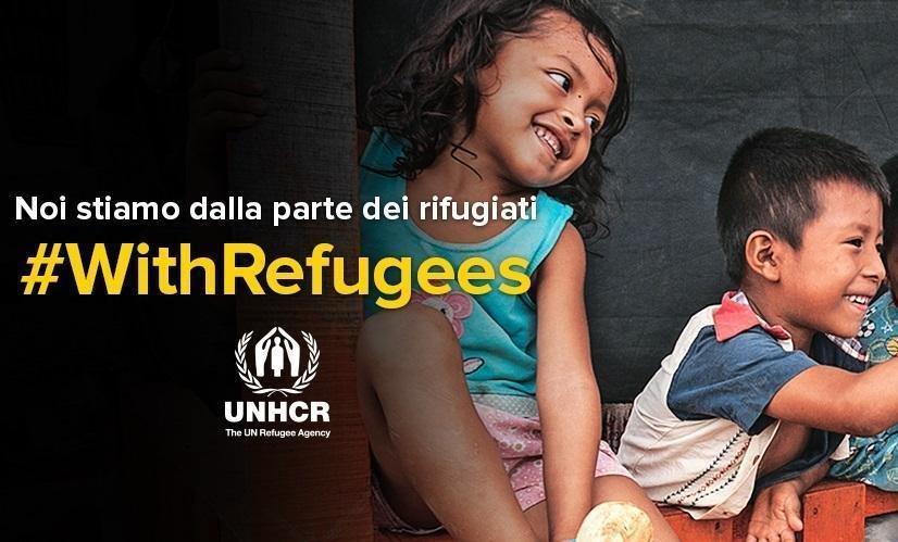 أنسا/مشهد من الحملة المقرر تنظيمها في اليوم العالمي للاجئين. المصدر: المفوضية العليا للاجئين.