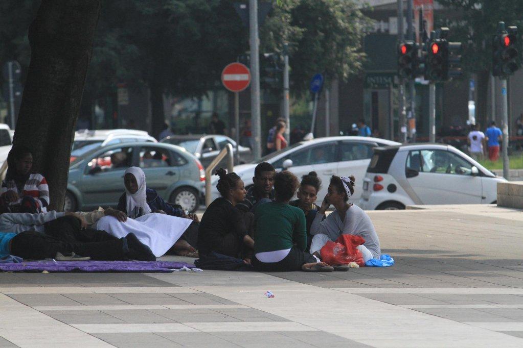 From file: Migrants at Milan's main train station, Italy | Photo: ANSA/STEFANO PORTA