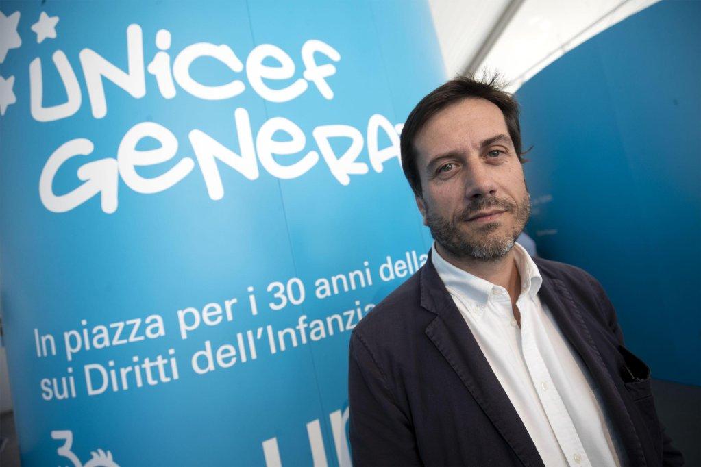 Andrea Iacomini, journalist and spokesperson for the Italian Committee of UNICEF | Photo: ANSA/Massimo Percossi