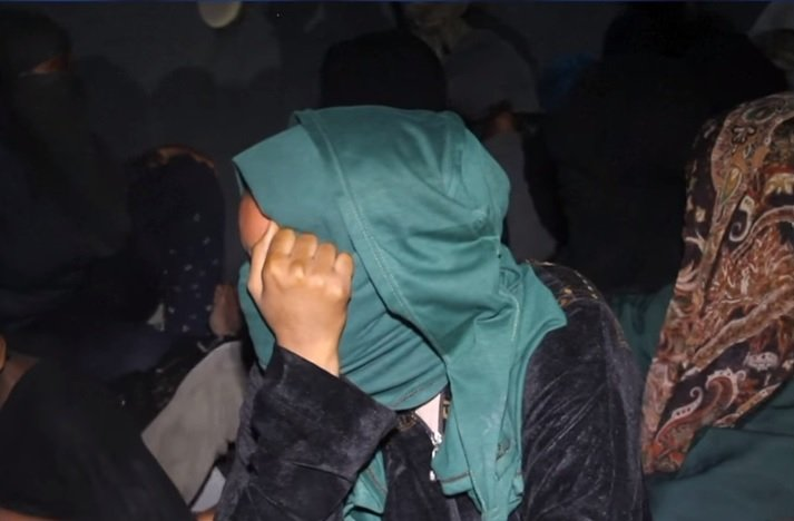 All of the migrants have been forcibly evacuated from the cargo ship. Source: TV report France24.com