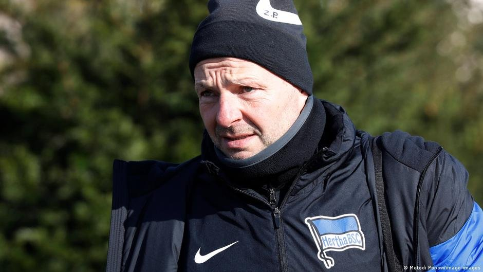 Hertha Berlin have parted company with goalkeeping coach Zsolt Petry | Photo: Metori Popow/Imago images
