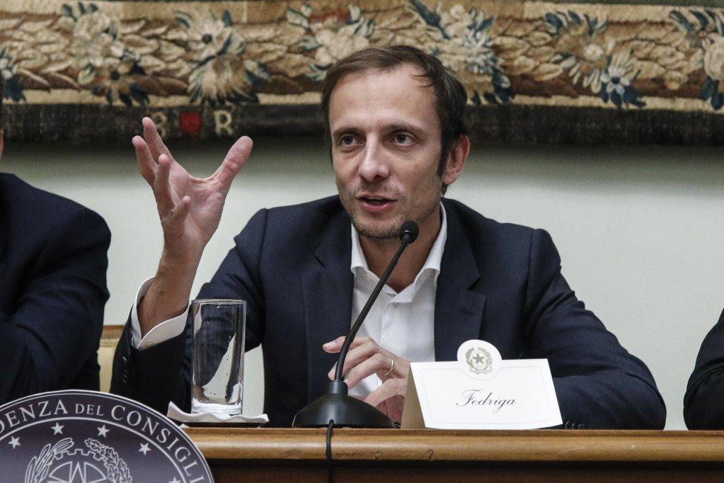 ANSA / ماسيميليانو فدريغا حاكم إقليم فريولي فينيسيا جويليا.