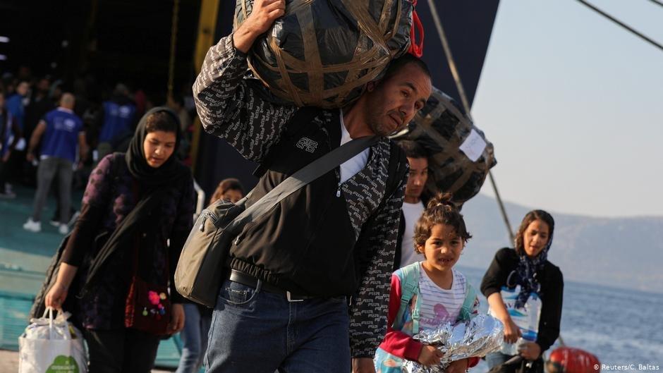 عکس از آرشیف/ گروهی از مهاجران به اتن رسیده اند./عکس: Reuters/C.Baltas