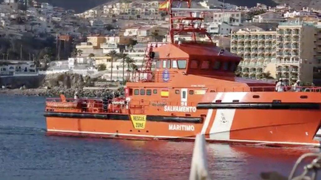 Les autorités espagnoles ont augmenté leurs patrouilles en mer, alors que de plus en plus de migrants s'embarquent pour les Canaries. Crédit : Reuters